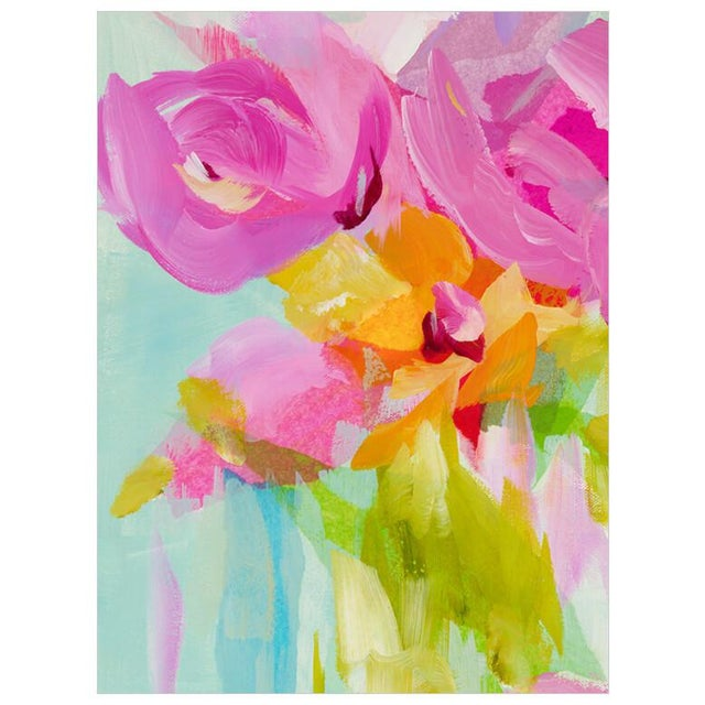 Beautiful color makes this Susan Pepe painting one of our new favorites.Hang this as an anchor for a collection wall, or...