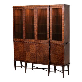 Scarborough House Breakfront Display Cabinet For Sale
