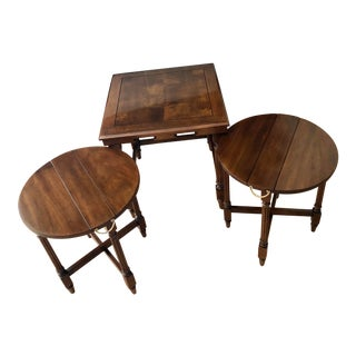 Traditional Gordon's Fine Furniture Nest of Tables - Set of 3 For Sale