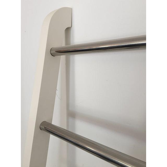 "White ""Nappa"" Pottery Barn Ladder Storage - Image 7 of 8"