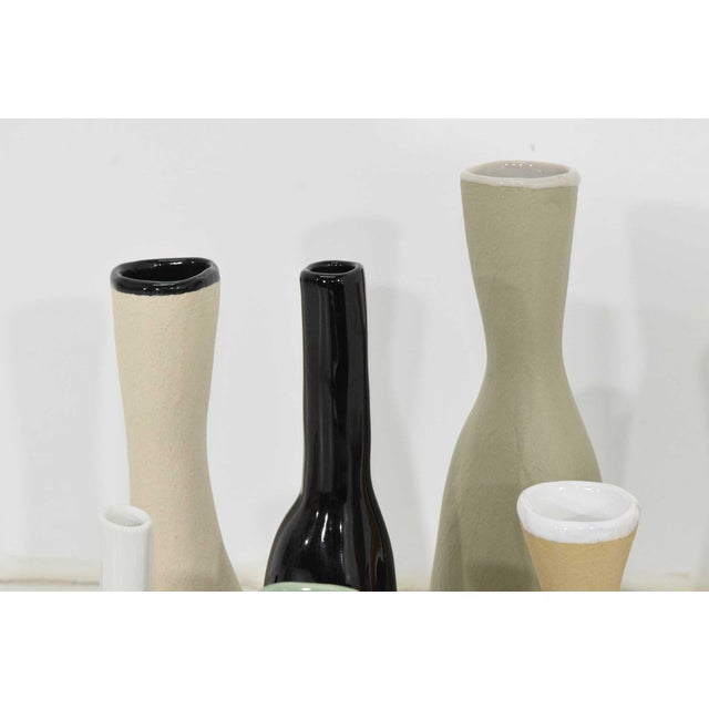 Collection of Vases by Luna Garcia - Set of 11 For Sale - Image 9 of 10
