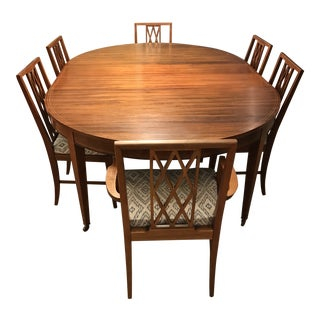 Early 20th Century Sheraton Revival Dining Set For Sale