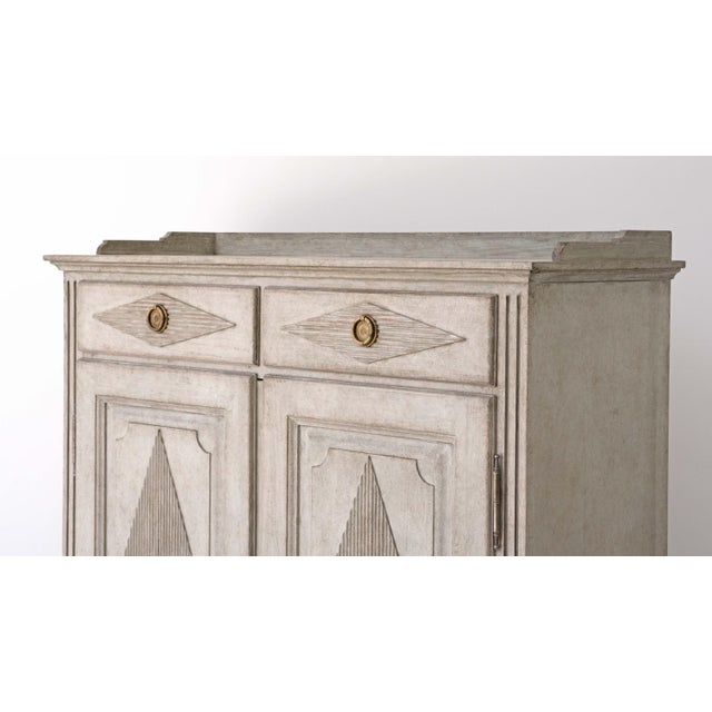 Not Yet Made - Made To Order Anders Gustavian Sideboard For Sale - Image 5 of 7