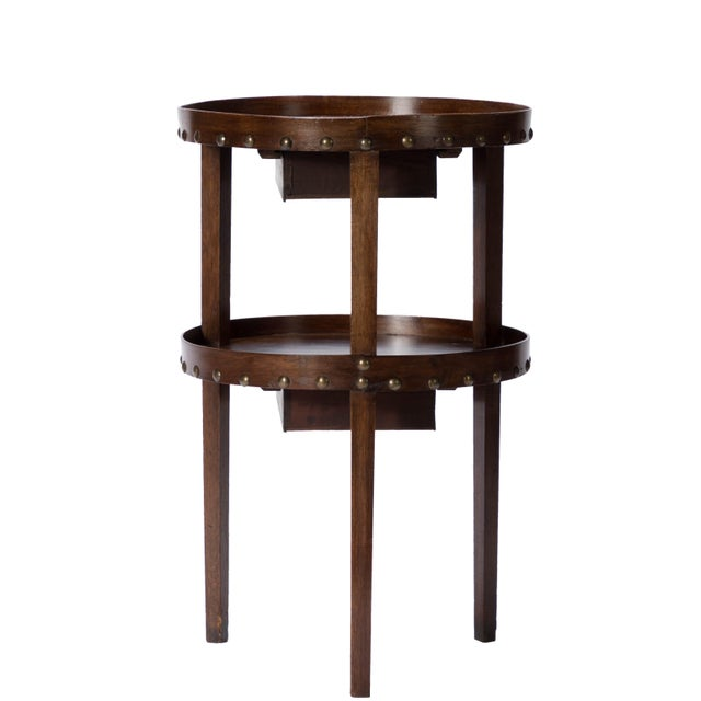19th C. French Walnut Table - Image 5 of 6