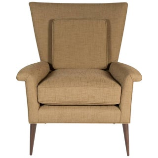 Customizable Stewart Arm Lounge Chair For Sale