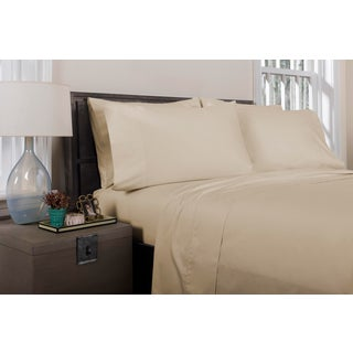 Florence Solid Flat Sheet Queen - Pumice Preview
