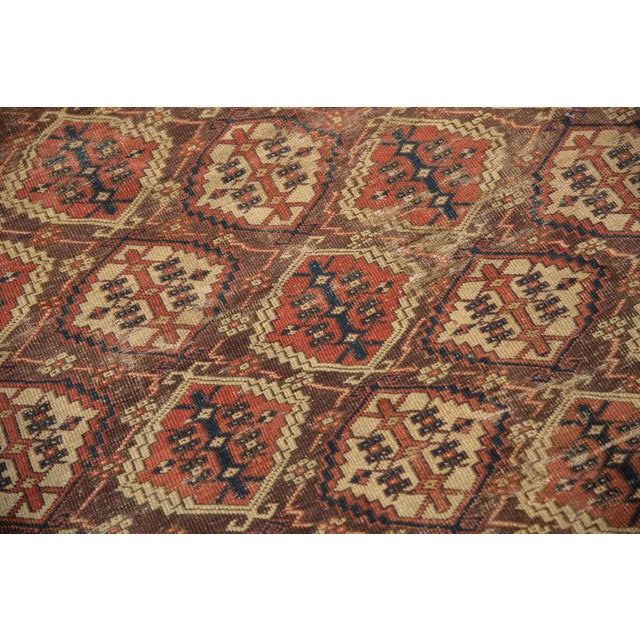 "Antique Beshir Carpet - 8'9"" X 14' For Sale - Image 10 of 13"