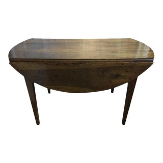 French Drop-Leaf Table, 19th Century For Sale