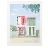 Image of Henry Fonda - Hanging House Plant Lithograph For Sale