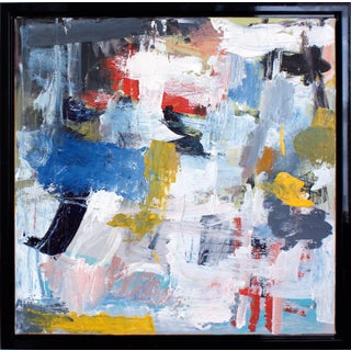 """Lesley Grainger """"In the Silence"""" Original Abstract Painting Preview"""