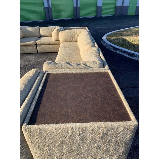 Textile 1970s Milo Baughman Sectional Sofa for Thayer Coggin For Sale - Image 7 of 13