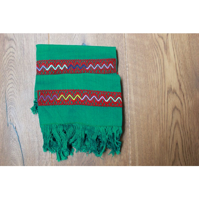 Hand-Woven Chiapas Placemats - Pair For Sale - Image 7 of 7