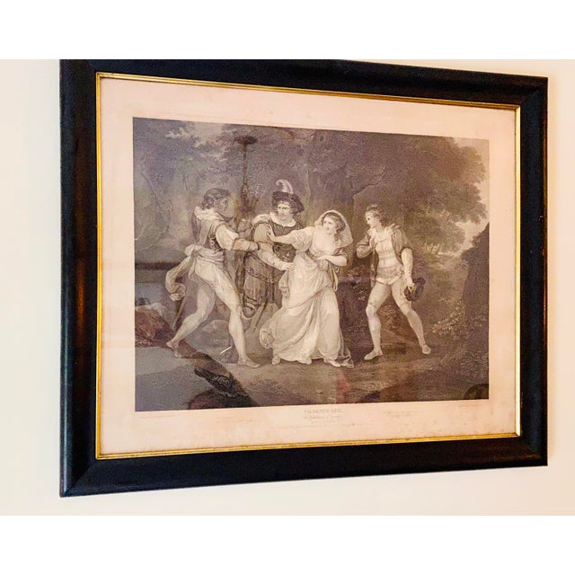 """18th Century English Engraving From Shakespeare's """"Two Gentlemen of Verona"""" For Sale In New York - Image 6 of 13"""