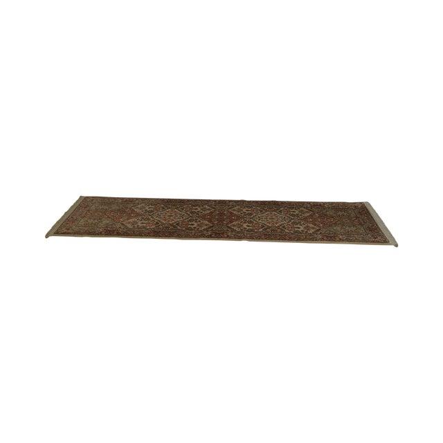 "Karastan Empress Kirman 2'6"" X 8'6"" Runner Area Rug Carpet (A) For Sale"