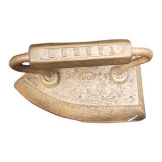 Antique Decorative Flat Iron For Sale