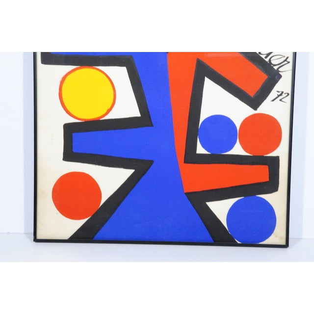 Abstract Asymetrie Silk Screen by Alexander Calder For Sale - Image 3 of 5