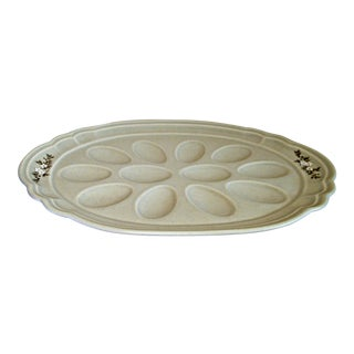 Pfaltzgraff Deviled Egg Plate For Sale