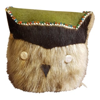 Alaskan Athabaskan Owl Totem Toy