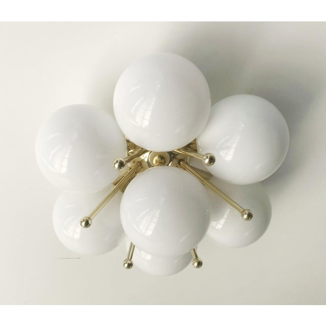 Italian Sakura Flush Mount / Sconce by Fabio Ltd For Sale - Image 3 of 9