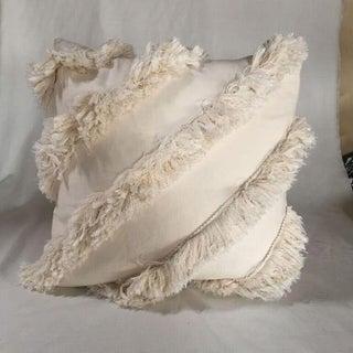 Kim Salmela Ivory Fringe Pillow Preview