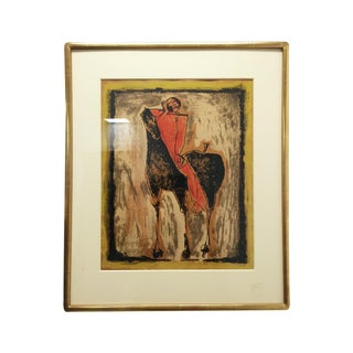 "Vintage Print of Marino Marini's ""Red Rider"" For Sale"
