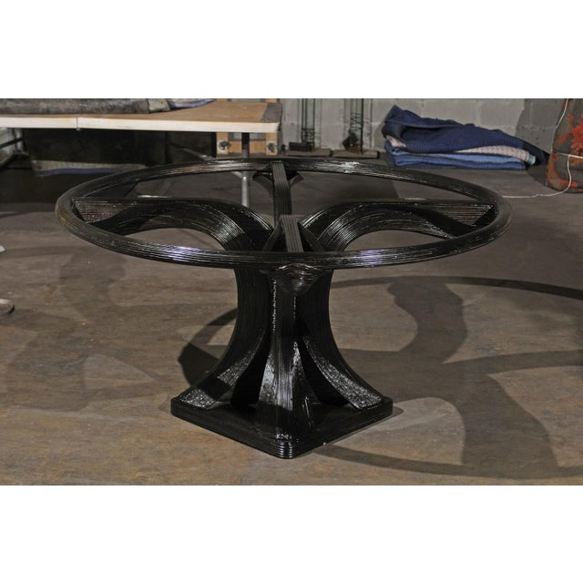 Extraordinary Trompe L'oiel Dining or Centre Table by Betty Cobonpue, circa 1980 For Sale - Image 12 of 13