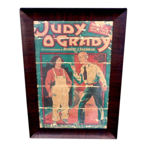 Judy O'Grady Playbill Sign For Sale