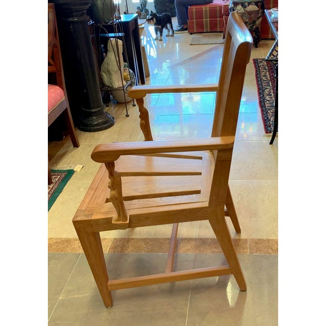 Tan 1990s Vintage Sutherland Matisse Teak Dining Chairs- A Pair For Sale - Image 8 of 13