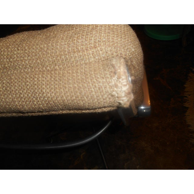 Vintage Herman Miller Padded Swivel Lounge Chair For Sale - Image 10 of 10
