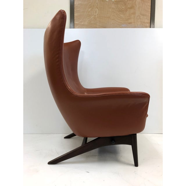 HW Klein Reclining Lounge Chair by H.W. Klein For Sale - Image 4 of 6