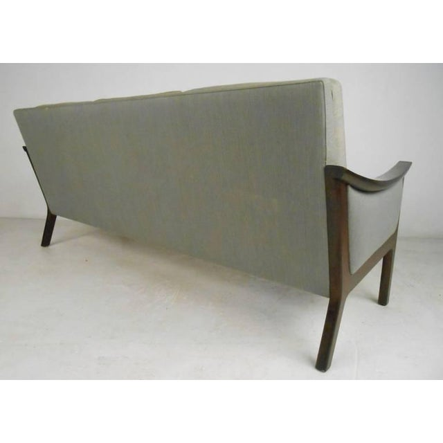 Mid-century Ole Wanscher Style Living Room Suite For Sale - Image 5 of 10