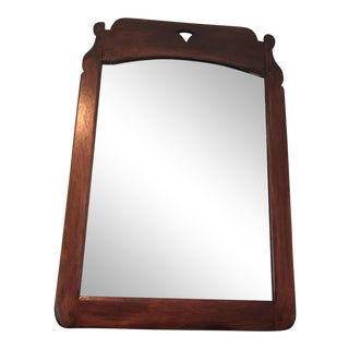 Antique Cushman Colonial Wood Mirror