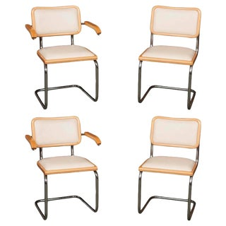 "Marcel Breuer ""Cesca"" Chairs - Set of 4 For Sale"