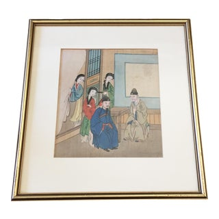 Old H.Painted Chinese Painting on Silk
