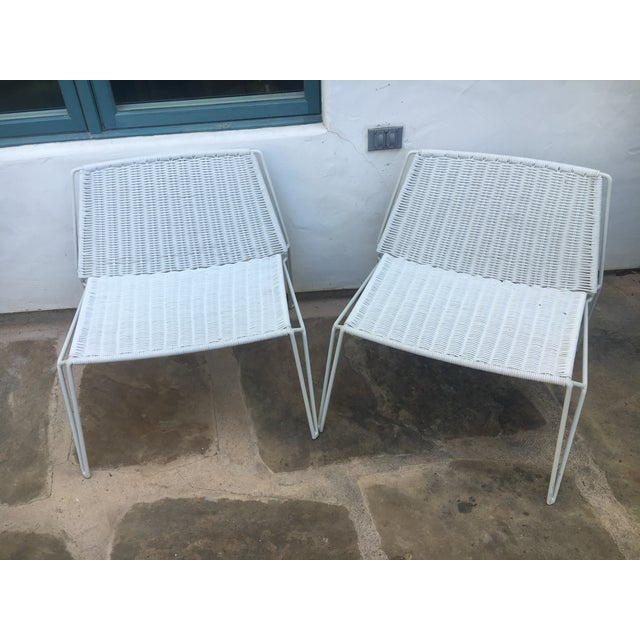 Room & Board Penelope Outdoor Loungers - A Pair - Image 2 of 8