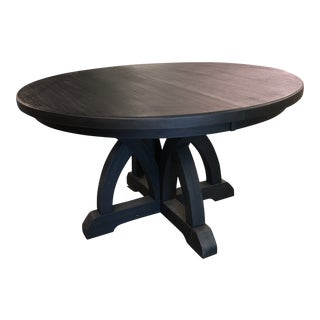 Hooker Corsica Dining Black Wooden Dining Table For Sale