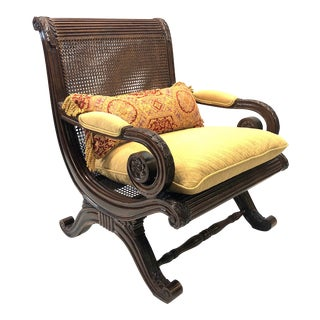 Hollywood Regency Plantation Chair -Beautiful! For Sale