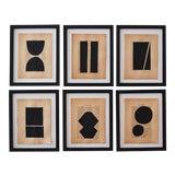 Image of Josh Young Design House - 6 Piece Noir Géométrique Collection For Sale