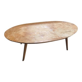 1950s Russel Wright for Conant Ball Surfboard Coffee Table