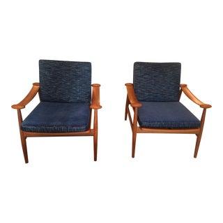 Finn Juhl Spade Chairs - a Pair