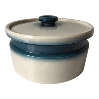 """Vintage Wedgwood """"Blue Pacific"""" Round Casserole For Sale"""