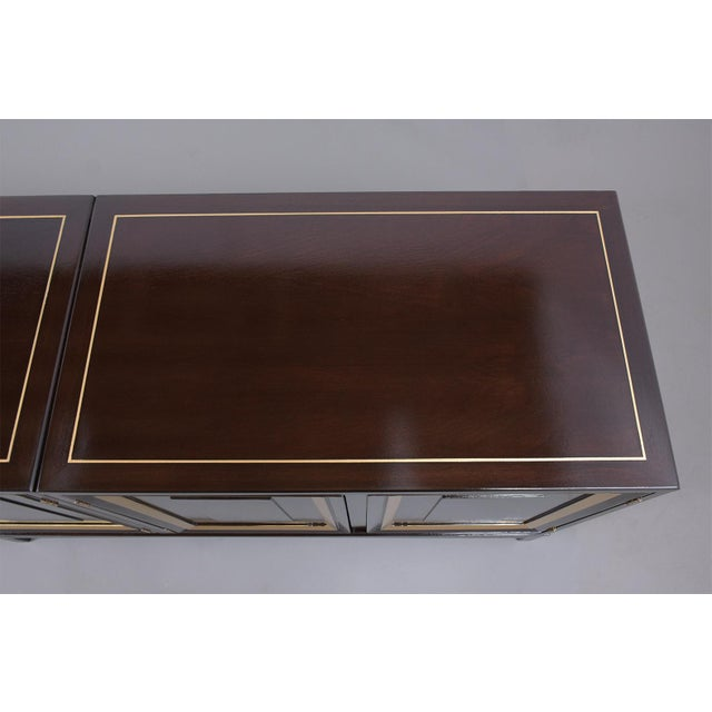 Mid-Century Modern Ebonized Credenza For Sale In Los Angeles - Image 6 of 13