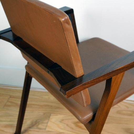 Modern Luisa Chair by Franco Albini for Poggi For Sale - Image 3 of 4