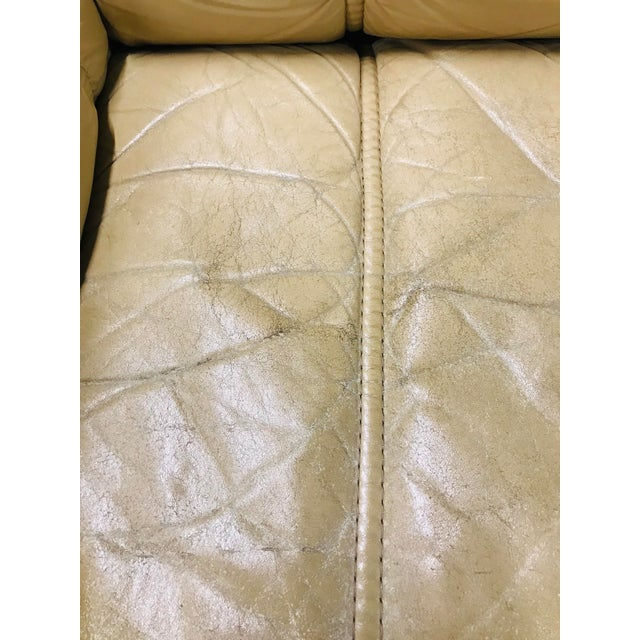 Wood 1970s Vintage Ekornes Stressless Montana Solid Teak Loveseat and Sofa - 2 Pieces For Sale - Image 7 of 13