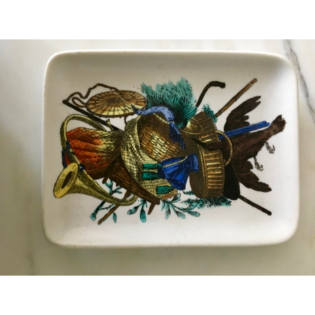 Vintage Fornasetti Decorative Trinket Dish, Tray, Plate, Accessories - Image 2 of 6