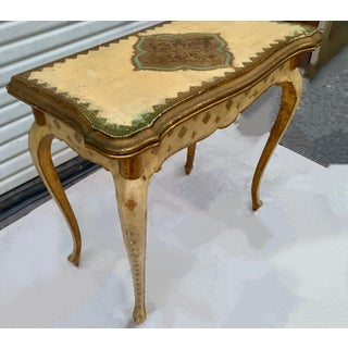 Giltwood Florentine Game Table and Chair Preview