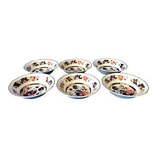 1950s Vintage Mason's Mandarin Bowls - Set of 6 For Sale