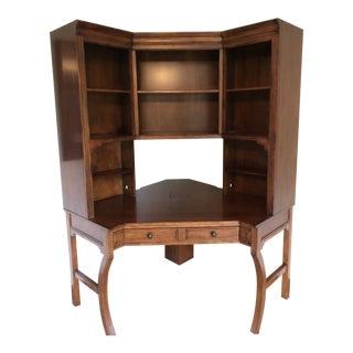 Vintage Sligh-Lowry Furniture Co. Corner Desk Unit For Sale
