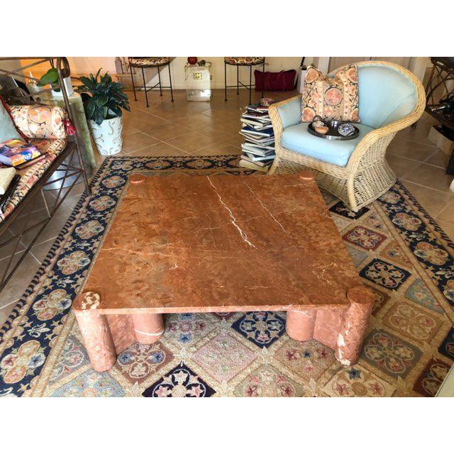 Knoll International Marble Coffee Table - Vintage, Mid-Century For Sale - Image 10 of 10