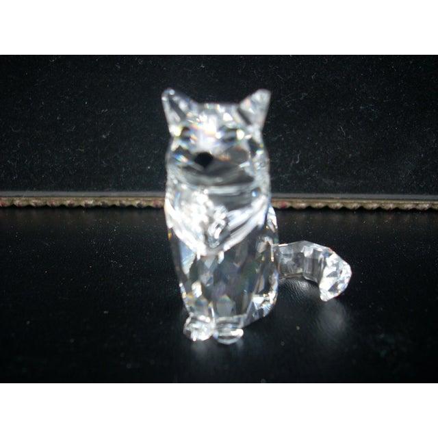 Swarovski Crystal Cat Figure - Image 3 of 4